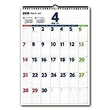 能率 NOLTY 2019年 カレンダー 壁掛け32 B4 C128