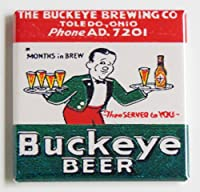 Buckeyeビール冷蔵庫マグネット