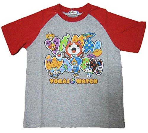妖怪ウォッチ NEXTPETS 半袖Tシャツ グレー 120...