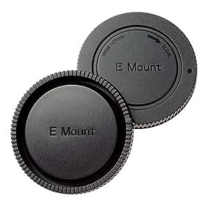 エツミ カメラ用キャップ ソニーNEX対応 (Eマウント対応) ボディ&リアキャップセット E-6345
