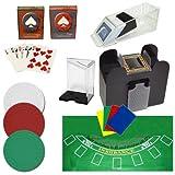 商標ポーカープロフェッショナルBlackjackセット