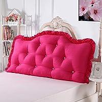 29-Haiyaosales 綿の枕元の読書枕、ソファーの背部クッションのクッションの枕無地のあと振れ止めの位置決めサポート枕 (Color : C, サイズ : 180x77cm(71x30inch))