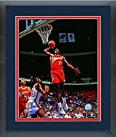 "Dominique Wilkins Atlanta Hawks NBAアクション写真(サイズ: 22.5"" X 26.5CM )フレーム"