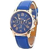 S&E 皮革時計/シンプルな腕時計/ウォッチ レディース/多色選択/ギフトOK
