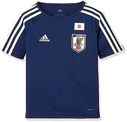 (アディダス)adidas サッカー 日本代表 ホームレプリカTシャツ DTQ74 [ボーイズ] DTQ74 BR3639 ナイトブルー F13/ホワイト (BR3639) J160