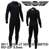 ラッシュ ウエットスーツ ノンジップ 3.5mmフルスーツ RASH J7 SERIES 春夏用 メンズウェットスーツ 2017 L/XL