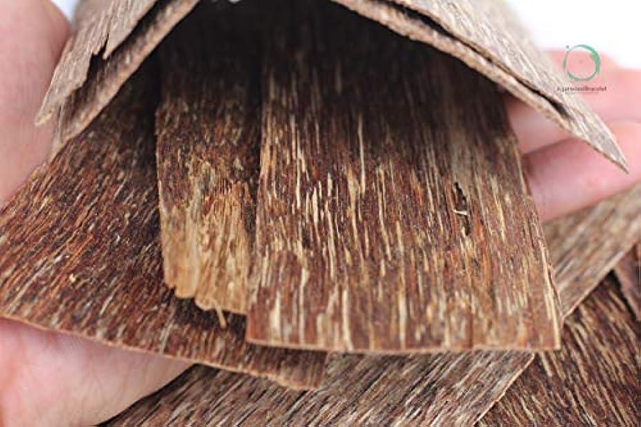 くるみかなりのフレア沈香ブレスレット 高元Natural Wild Agarwood OudチップGrade A +   300グラムth47 – 3