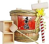 来福 ミニ樽酒セット 2升樽 (3.6L)【配送日時指定可】【即発送】