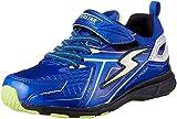 [スーパースター] 防水 防滑ソール 運動靴 通学履き バネ バネのチカラ パワーバネ 軽量 ゆったり SS J826 ブルー 180(18 cm) 2E
