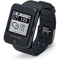 【18年モデル】ゴルフナビ ゴルフGPS 距離測定器 クリップ・腕時計型 音声案内 ファインキャディ(FineCaddie) M100アルファ