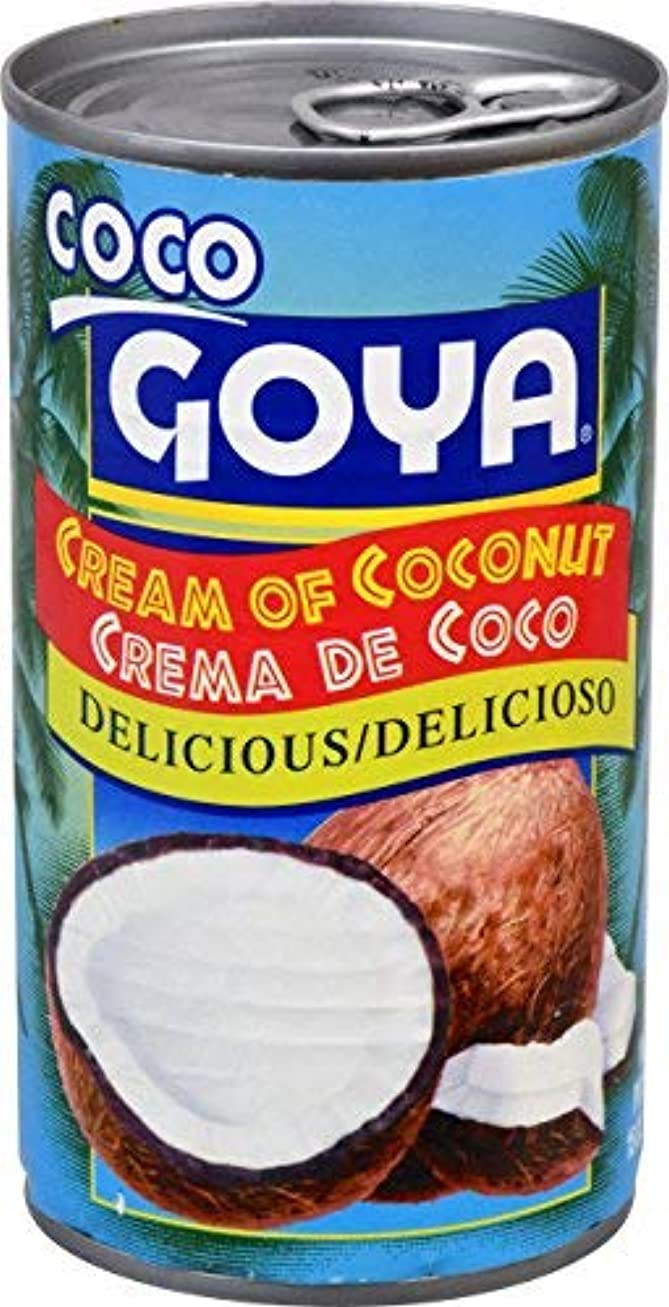連続した結晶着実にGoya Foods Cream Of Coconut 15 oz [並行輸入品]