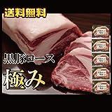 鹿児島黒豚上ロース肉 黒豚極み5枚セット ステーキ とんかつ /極みステーキ5/