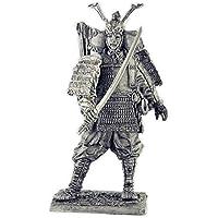 日本の侍12世紀. Japanese samurai 12th century. Tin toy soldiers. コレクション54ミリメートル(1/32スケール)を ミニチュア置物.錫のおもちゃの兵士