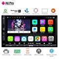 ATOTO A6 2DIN Android Car Navigation Stereo Dual Bluetooth & 2A Charge - Premium Car Entertainment Multimedia Radio,WiFi/BT Tethering Internet,
