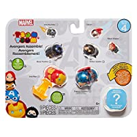 Marvel Tsum Tsum Figures Series 4 Style 2 Toy (9 Pack)