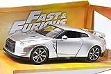 "JadaTOYS 1:24scale ""FAST & FURIOUS 7"" ""Brian's Nissan GT-R (R35)""(SILVER) ジェイダトイズ 1:24スケール 「ワイルドスピード スカイミッション」 「ブライアン 日産 GT-R (R35)」(シルバー) [並行輸入品]"