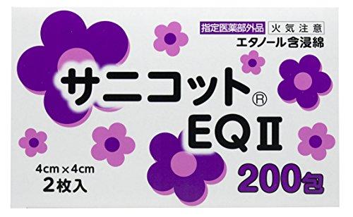 サニコットEQII 118―66025 1箱(2枚×200包)