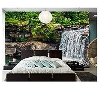 Mingld 3D壁の壁画石自然壁紙、リビングルームのテレビソファ壁の寝室の写真-120X100Cm