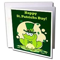 Edmond Hogge Jr St Patricks Day–ハッピー聖パトリックの日–グリーティングカード Individual Greeting Card