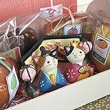 ひなまつり焼き菓子ギフト「三毛猫のおひなさま」(和歌山産フルーツのパウンドケーキ・マドレーヌ・アーモンドカップケーキなど合計5個入り)