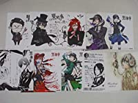 黒執事 枢やな アニメイト限定 特典 色紙カード CDの初回特典カード チラシ