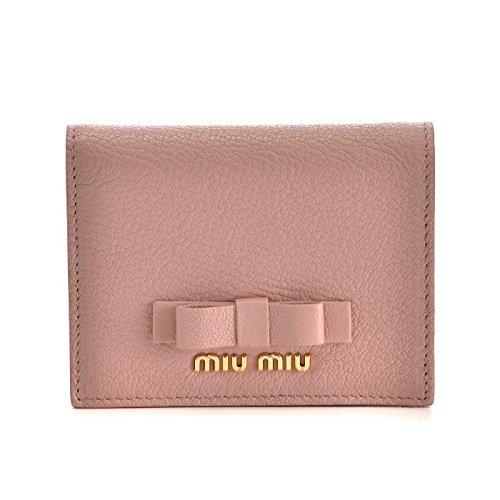 MIUMIU(ミュウミュウ) マドラス ミニ財布 二つ折り財布 5MV204 3R7 615 [並行輸入品]