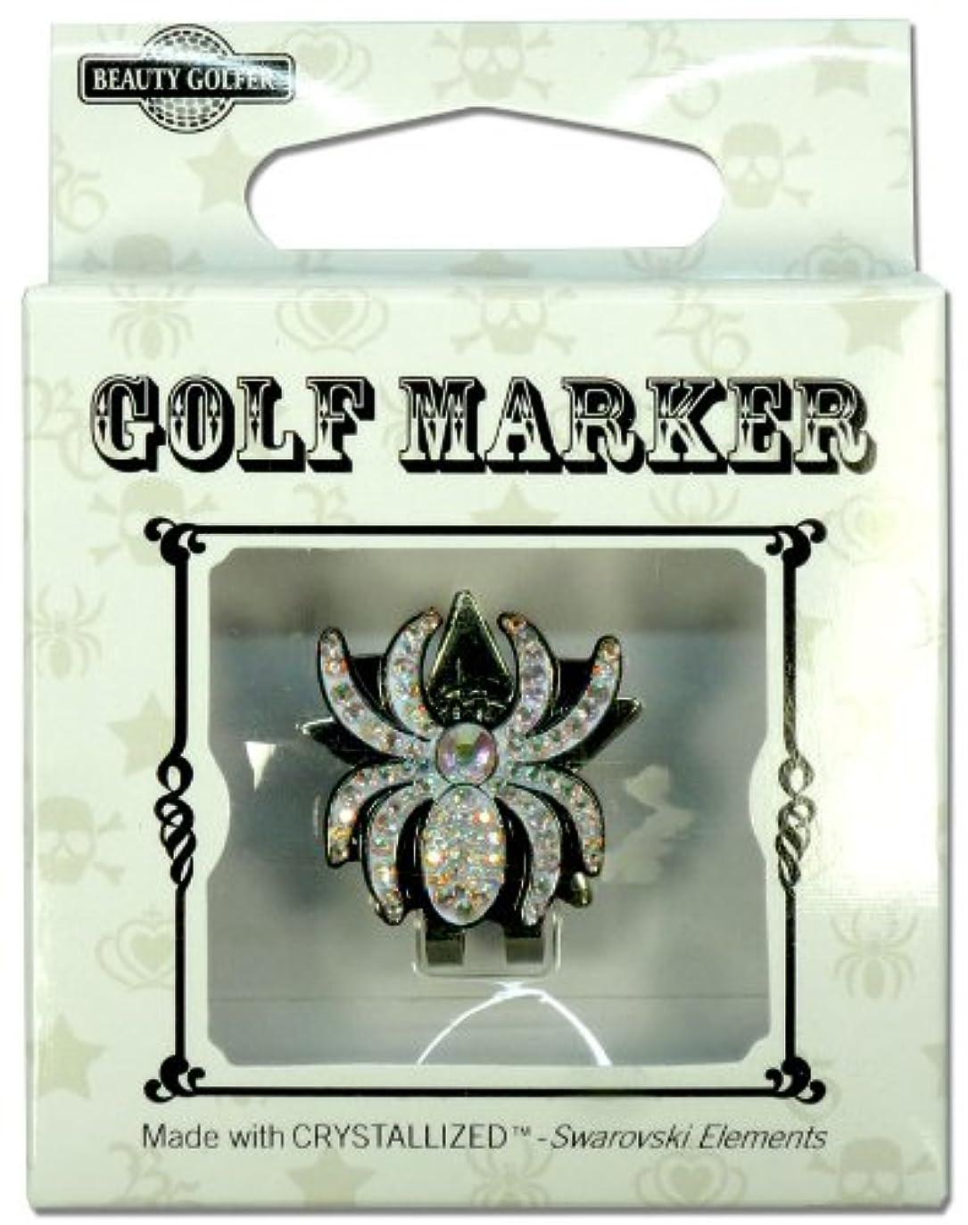 確かな週末フォアマンゴルフ マーカー BG-14 クモ