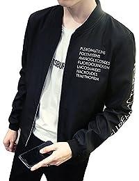 (フロラン) Froyland メンズ ロゴ付き ブルゾン ジャンパー ジャケット 春 秋 アウター ライトアウター カジュアル スポーツ スタジャン