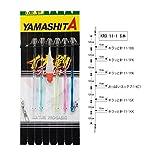 ヤマシタ(YAMASHITA) イカ釣プロサビキ KRO 11-1 6本