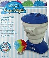 Rival Frozen Delights Snow Cone Maker Blue by Rival