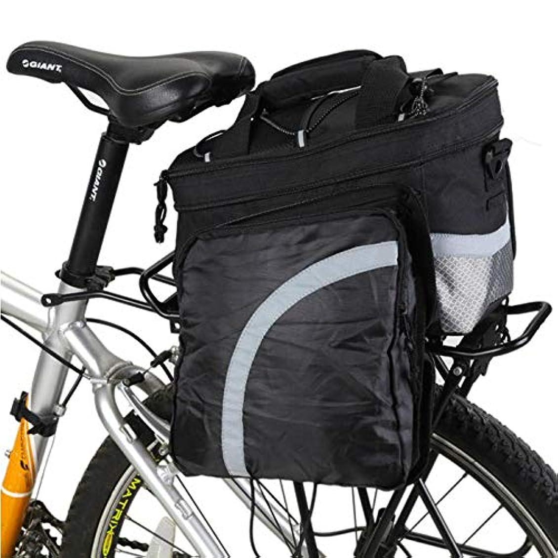 ラオス人コートご予約バイクフレームバッグ 自転車パニエトランクバッグ、大容量防水自転車リアシートパニエフィット 取り外し可能ショルダーストラップ