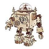 特別パッケージ版 Robotime DIYオルゴール 3D立体パズル ロボット ギア クラフト キット 子供 大人 オルゴール からくり プレゼント