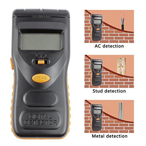 Vivavast デジタル 金属探知機 AC電線 壁裏探知 ...