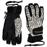 ブランドオメガ 686 Glove Grey Totem Print Crush Gloves [並行輸入品]