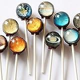 【 惑星キャンディー 】 Planet Lollipop (1個) [並行輸入品]