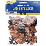 Football Whistles (12 count) サッカーホイッスル(12カウントが)?ハロウィン?クリスマス?