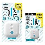 【まとめ買い】消臭力 DEOX デオックス トイレ用 消臭 芳香剤 置き型 フレッシュソープ 本体 6ml+つけかえ 6ml 消臭剤