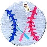 野球テーマGender Reveal Pinata 16