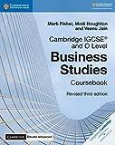 Cambridge IGCSE and O Level Business Studies Revised Coursebook with Cambridge Elevate Enhanced Edition (2 Years) (Cambridge International IGCSE)