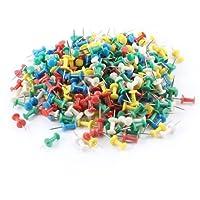 Officeの盛り合わせ色のプラスチック製のヘッド金属製プッシュピン画鋲350個