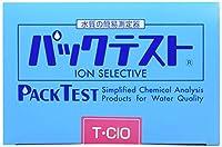 共立理化学研究所 パックテスト WAK-T・ClO 総残留塩素
