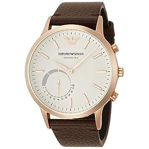 [エンポリオ アルマーニ コネクテッド]EMPORIO ARMANI CONNECTED 腕時計 RENATO ハイブリッドスマートウォッチ ART3002 メンズ 【正規輸入品】