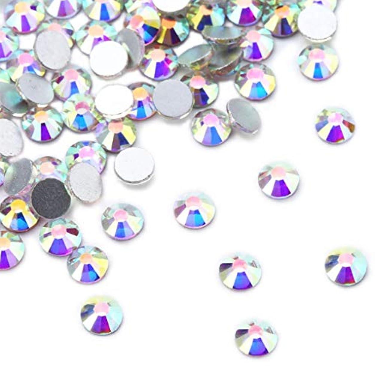 こしょうデモンストレーション引き出しXIULIラインストーン DIY ネイルを飾てと服装使用 高い採光 ホワイトAB ss3-30 (6.5mm ss30(288粒), AB)