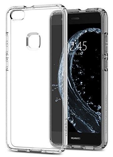 【Spigen】 Huawei P10 lite ケース, TPU ケース 全面クリア 超薄型 超軽量 リキッド・クリスタル ファーウェイ P10 ライト 用 (P10 lite, クリスタル・クリア)
