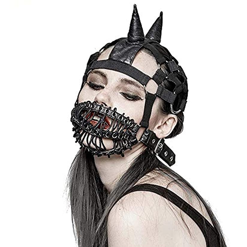 アリスほめる不潔ETH Shengpiゴシックアニメのコスプレマスクを結ばスチームパンクニュートラルマスク 適用されます