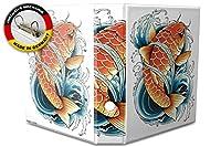 バインダー 2 Ring Binder Lever Arch Folder A4 printed Koi