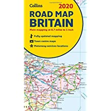 2020 Collins Map of Britain [New Edition]