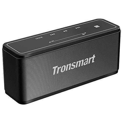 Tronsmart Bluetooth4.2 スピーカー 40W高出力 高音質 大音量 重低音/タッチ操作 / NFC搭載/TWS対応 / 15時間連続再生 / 内蔵マイク搭載/ポータブル ワイヤレス ブルートゥース スピーカー アウトドア iPhone & Android対応【技適認証済】