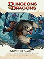 Monster Vault: A Horde of Iconic Creatures for Any Campaign [With Die-Cut Monster Tokens and Fold-Out Battle Map and Booklet]