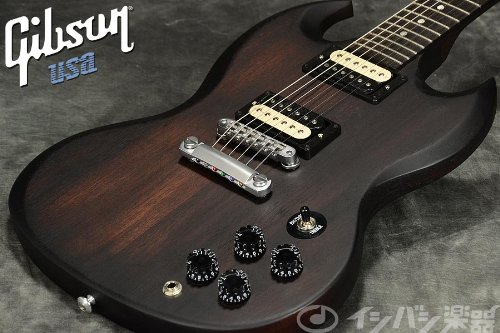 Gibson ギブソン エレキギター SGJ 2014 Rubbed Vintage Burst Satin